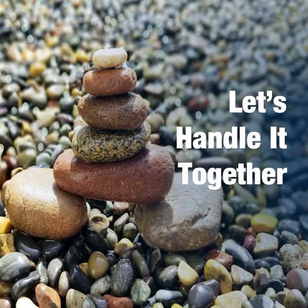 Button to Let's Handle It Together | Consulting Services